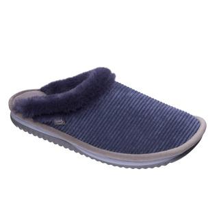 Scholl BRIENNE FLUFFY modrá - domácí zdravotní obuv