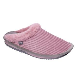 Scholl BRIENNE FLUFFY - světle růžová domácí zdravotní obuv