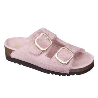 Scholl ILARY FLUFFY - růžové zdravotní pantofle