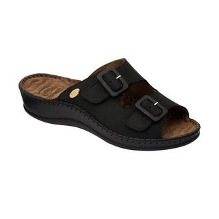 Scholl WEEKEND černé - zdravotní pantofle