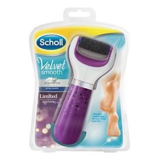 Scholl Velvet Smooth elektrický pilník na chodidla - fialový