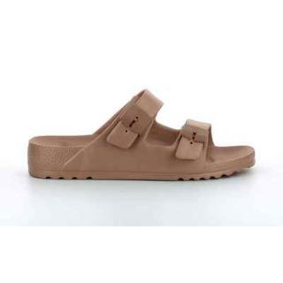 Scholl SHO BAHIA bronzové zdravotní pantofle