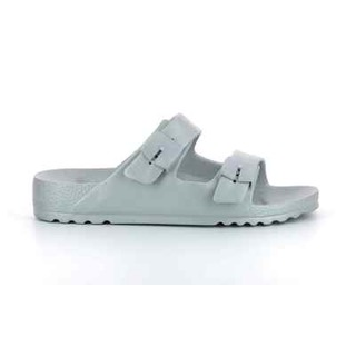 Scholl SHO BAHIA - stříbrné zdravotní pantofle