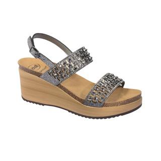 Scholl CASSIOPEA cínové zdravotní sandály