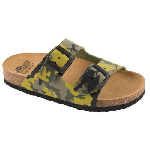 AIR BAG KID zelené - dětské zdravotní pantofle - EU 27