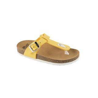 Scholl BOA VISTA KID žluté - dětské zdravotní pantofle