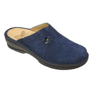 Scholl EDITH domácí tmavě modré pantofle