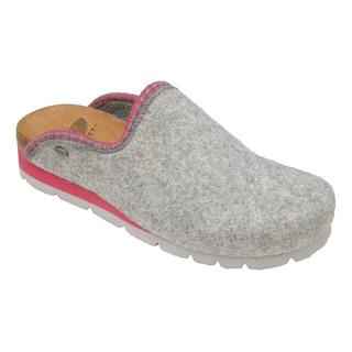 Scholl INDA šedá domácí obuv