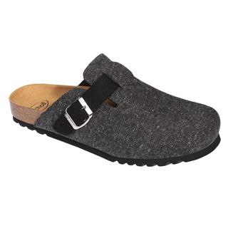 Scholl AMIATA MAN šedá - domácí zdravotní obuv