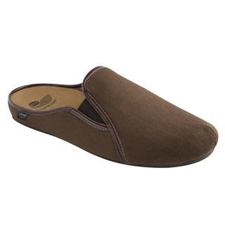 Scholl FELCE tmavě hnědá - domácí zdravotní obuv