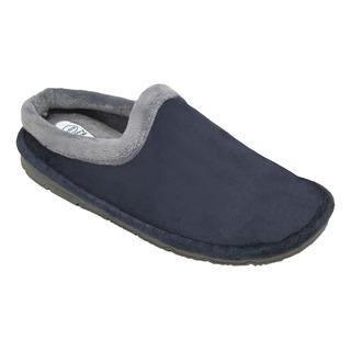 Scholl SIMONE tmavě modrá / šedá domácí obuv