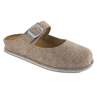 Scholl SPIKEY2 světle hnědá - domácí zdravotní obuv