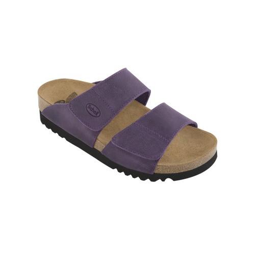AALIM švestkové - dámské zdravotní pantofle - EU 37