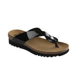 Scholl KENNA černé - zdravotní pantofle