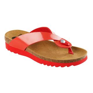 Scholl KENNA červené zdravotní pantofle
