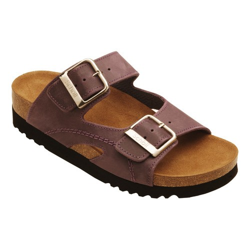 MOLDAVA WEDGE - fialové zdravotní pantofle - EU 36