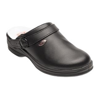Scholl NEW BONUS Unpunched - černé pracovní pantofle
