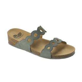 Scholl ODELIA tmavě šedé zdravotní pantofle