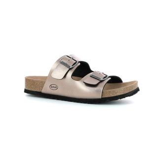 Scholl SHO AMELIA - bronzové zdravotní pantofle