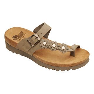 Scholl SIBEL šedé - zdravotní pantofle