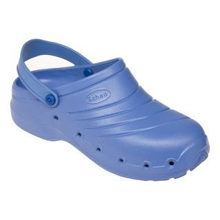Scholl WORK LIGHT - modré pracovní pantofle
