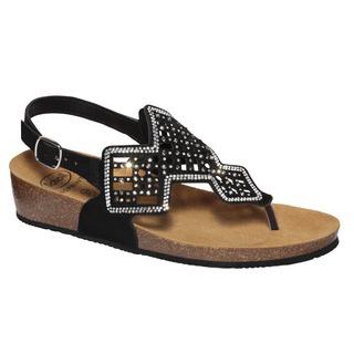 Scholl CAMILLA SANDAL - černé zdravotní sandále