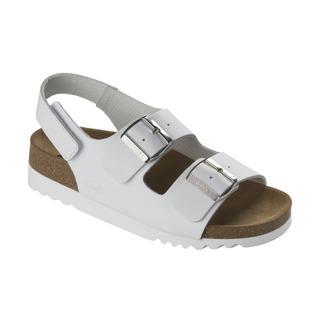 Scholl GIAVA bílé zdravotní sandály