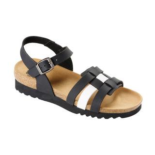 Scholl MIRKE černé zdravotní sandály