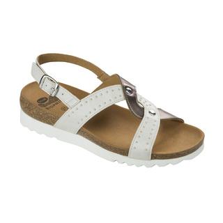 Scholl SELAH bílé zdravotní sandály