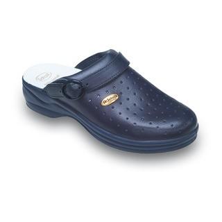 Scholl NEW BONUS Punched - modré pracovní pantofle