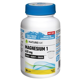 Swiss NatureVia Magnesium 1 420 mg (90 tablet)