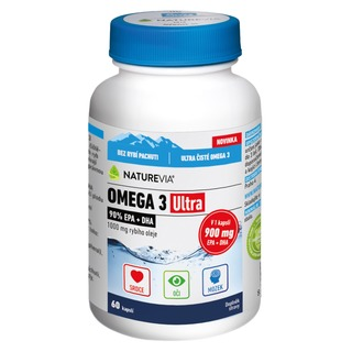 Swiss NatureVia OMEGA 3 ULTRA 900 mg EPA+DHA (60 tablet)