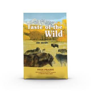 Taste of the Wild High Prairie Canine 12,2 kg - kompletní krmivo pro dospělé psy (pečený bizon)