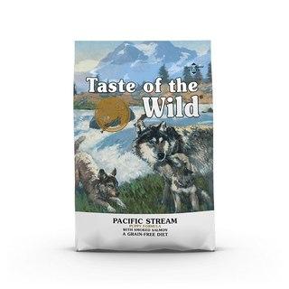 Taste of the Wild Pacific Stream Puppy 12,2kg - kompletní krmivo pro štěňata (uzený losos)