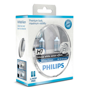 Philips H7 WhiteVision (2ks) - autožárovka