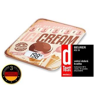 Beurer KS 19 ICECREAM - kuchyňská váha