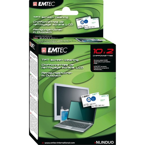 NLINDUO - Čisticí hadřičky na TFT monitory, notebooky a tablety
