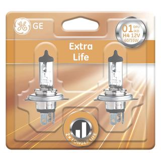 GE lighting H4 Extra Life 2 ks