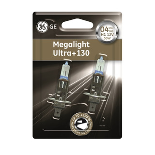 GE lighting H1 Megalight Ultra +130% 2 ks