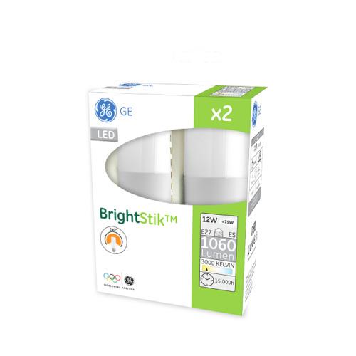 LED žárovka E27, 12W, 2 ks - teple bílé světlo