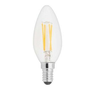 GE lighting LED žárovka E14, 4W, 1ks - teplé bílé světlo