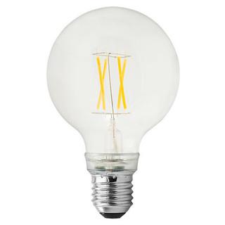 GE lighting LED žárovka E27, 5W, čirá - teplé bílé světlo