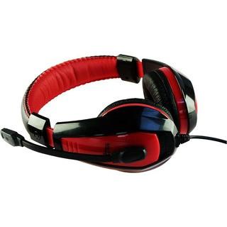 Media-Tech Nemesis MT3574 - Stereo USB sluchátka, dálkové ovládání, regulace zvuku a mikrofon