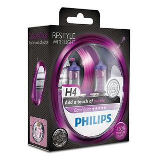 Philips H4 ColorVision Purple 2 ks