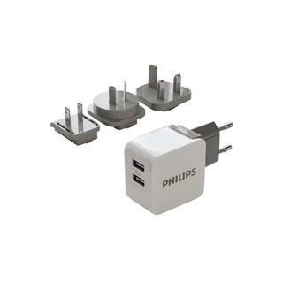 Philips DLP2220/10 - USB cestovní nabíječka, ultra rychlá, pro tablety a smartphony