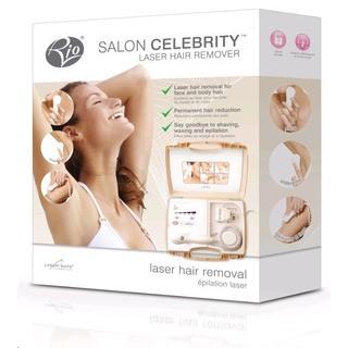 RIO SALON CELEBRITY LASER HAIR REMOVER - laserový odstraňovač chloupků na těle a obličeji