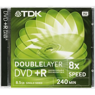 TDK DVD+R DL 8.5GB 8x