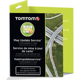 TomTom Map Update Service Card