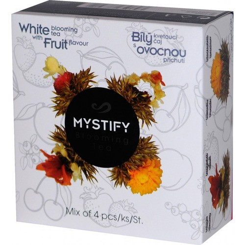 Bílý kvetoucí čaj Mystify ovocný 4ks