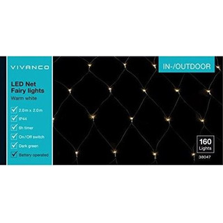Vivanco V-38047 - světelná síť 160 LED